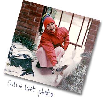 Gili's last photo